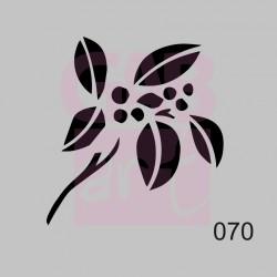 Větvička  - šablona 070