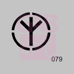 Hippies - šablona 079