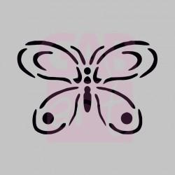 Motýl  - šablona 032