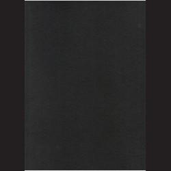 Černý filc A3, 3 mm