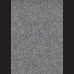 Šedý filc A2, 3 mm