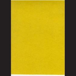 Žlutý filc A4, 3 mm