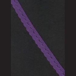 Krajka fialová č. 1, š. 14 mm
