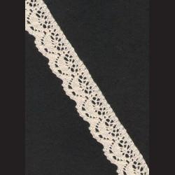 Krajka ecru č. 8, š. 25 mm