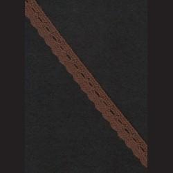 Krajka hnědá č. 1, š. 9 mm