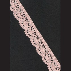 Krajka lososová č. 2, š. 21 mm