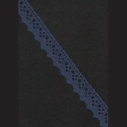 Krajka modrá č. 1, š. 21 mm