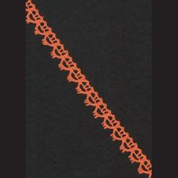 Krajka oranžová č. 1, š. 13 mm