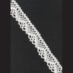 Krajka smetanová č. 5, š. 25 mm