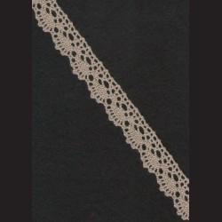 Krajka šedá č. 1, š. 19 mm