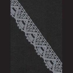Krajka šedá č. 3, š. 31 mm