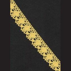 Krajka žlutá č. 2, š. 24 mm