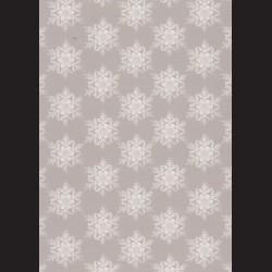 Karton šedý - vločky