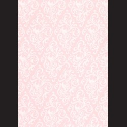 Karton světle růžový - ornament č. 1