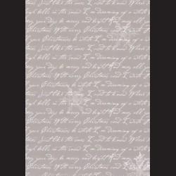 Karton šedý - písmo č. 3