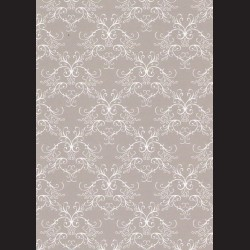 Karton šedý - ornament č. 2