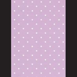 Karton světle fialový - puntíky