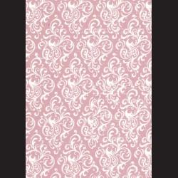 karton starorůžový - ornament č. 1