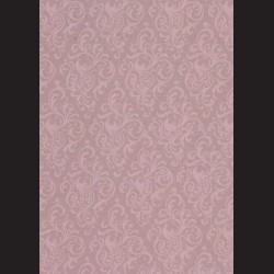 Karton fintage fialový - ornament č. 1