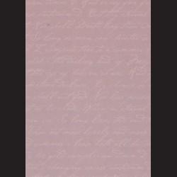 Karton vintage fialový - písmo č. 2