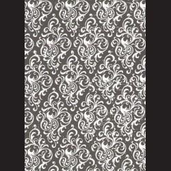 Karton černý - ornament č. 1