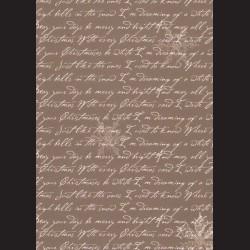 Karton hnědý - písmo č. 3
