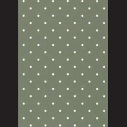 Karton tmavě zelený - puntíky