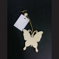 Dřevěný motýl