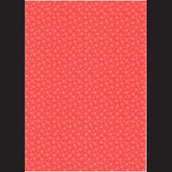 Fotokarton  A4 srdce červená, tvrdý karton 300g vhodný na výrobu přání, tvoření s dětmi, scrapbook a další tvoření