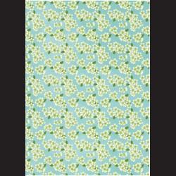 Fotokarton A4 Kvítky bledě modré