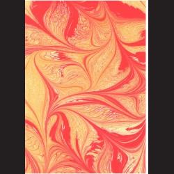 Fotokarton A4 Mramor rudý