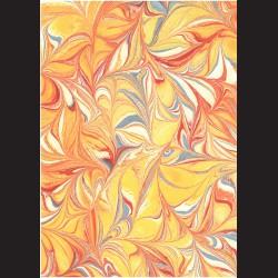 Fotokarton A4 Mramor žlutý