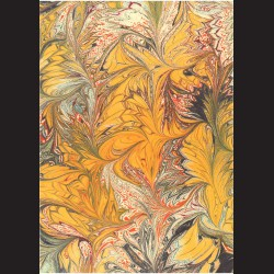 Fotokarton A4 Mramor žlutooranžový