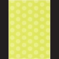 Fotokarton  A4 puntíky zelené, tvrdý karton 300g vhodný na výrobu přání, tvoření s dětmi, scrapbook a další tvoření