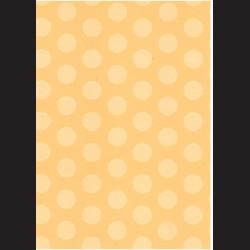 Fotokarton A4 Puntíky žluté