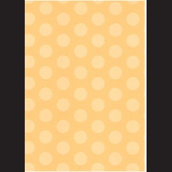 Fotokarton  A4 puntíky žluté, tvrdý karton 300g vhodný na výrobu přání, tvoření s dětmi, scrapbook a další tvoření