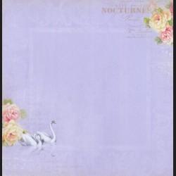 Papír na scrapbook 30,5 x 30,5 cm - Nokturno