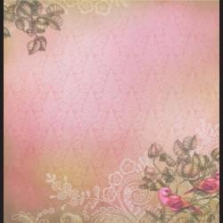 Papír na scrapbook 30,5 x 30,5 cm - Fairy Garden