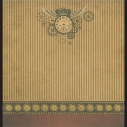 Papír na scrapbook 30,5 x 30,5 cm - Time Wings