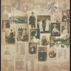 Papír na scrapbook 30,5 x 30,5 cm - Photo Archive