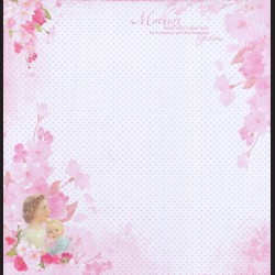 Papír na scrapbook 30,5 x 30,5 cm - The Perfect Embrace