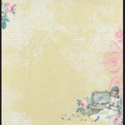 Papír na scrapbook 30,5 x 30,5 cm - Mothers treasure