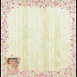 Papír na scrapbook 30,5 x 30,5 cm - Joy