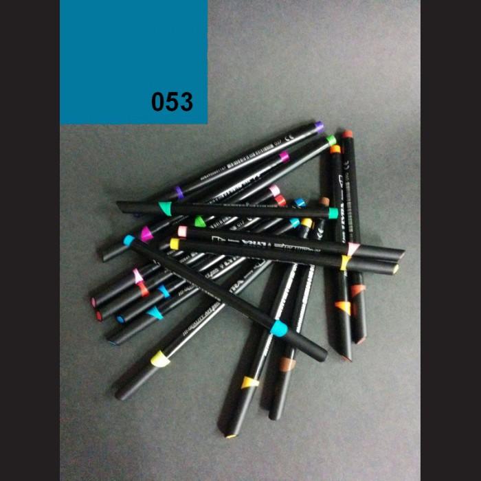 Tmavě tyrkysový akvarelový fix