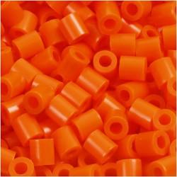 Korálky zažehlovací - oranžové, 5 x 5 mm, 850ks