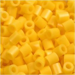 Korálky zažehlovací - žluté, 5 x 5 mm, 850ks