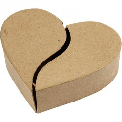 Krabice dárková srdce