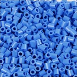 Korálky zažehlovací - tyrkysové, 5 x 5 mm, 850ks