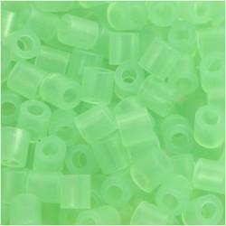 Korálky zažehlovací - neonové zelené, 5 x 5 mm, 6000ks