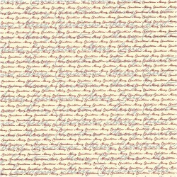 Papír na scrapbook 30,5 x 30,5 cm - Merry Christmas 1